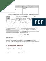 Actividades-explicaciones  y ejercicios