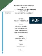 REPORTE 1. TENSION SUPERFICIAL