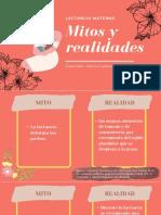 Mitos y realidades sobre la lactancia materna.