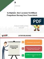 02a Paparan Kebijakan dan Layanan Sertifikasi.ppt
