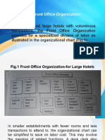 The Front Office Organization