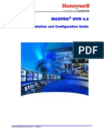 800-16419V5-A_MAXPRO_NVR_ 4.5_Installation and Configuration Guide