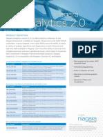 Niagara Analytics 2-0 Data Sheet