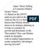 GUIDE_MISTINE DIRECT SELLING IN THE THAI COSMETICS MARKET