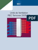 Ventilation double flux RT250S-EC