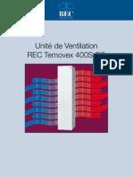 Ventilation double flux RT400S-EC