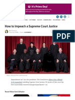 How to Impeach a Supreme Court Justice