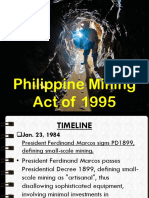 Mining Act Revised Report