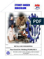 Flux Cored Arc Welding NC II
