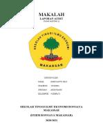 MAKALAH AUDITING 1 (HARIYANTO JOLO 201830061)