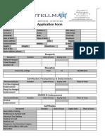 CV Form Stellmar.xls