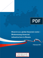 Modernizing Financial Infrastructure in Russia  (factsheet via ModernRussia.com)