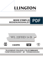 Wellington WL22FHD 14B