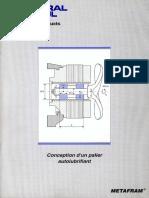 Conception palier autolubrifiant CM98