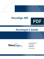 DocuSign API Developer Guide