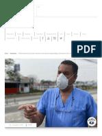 """Políticos están conduciendo a Honduras a un _desastre epidemiológico"""" dice doctor Carlos Umaña"""