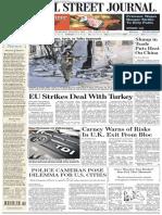 Wallstreetjournaleurope 20160309 the Wall Street Journal Europe