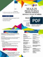 Buku Program Majlis Penutupan Minggu Bahasa 2020
