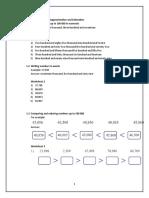 math booklet year 4 - Print