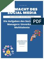 Die Macht Des Social Media