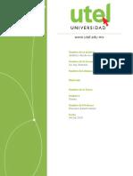 Análisis y diseño de sistemas Actividad Semana 4