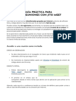 Manual de uso Jitsi Meet