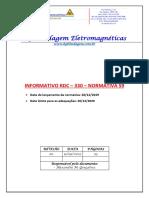 RDC 330 - Normativa 59 - BG Blindagem
