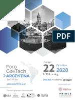 Foro Govtech _ Argentina