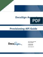 DocuSign Account Provisioning API Guide