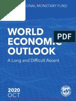 Panorama de La Economía Mundial FMI WEO