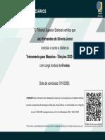 Treinamento_para_Mesários___Eleições_2020___Turma_5-Certificado_de_conclusão_85432