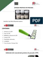 Presentacion de concentrado proteico de pescado