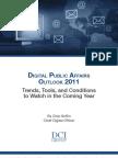 Digital Public Affairs Outlook 2011