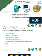 7° Básico-Física-Clima- Parte 1-Diferencia entre tiempo y clima'-07-09-2020
