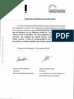 Proposición de Ley reforma CGPJ