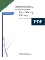 Entre María y Eufrasia