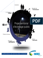 Projet territorial d Eclairage Public