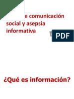 Información vs comunicación