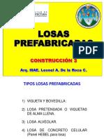 3. Clase 3, Losas prefabricadas LEO 2020
