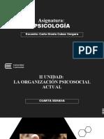 CUARTA SEMANA PSICOLOGIA