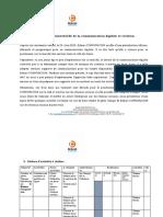 Planification trimestrielle Communication digitale et création