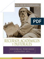 Catalogo Academico Portavoz 2011