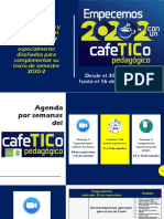 empecemos 2020-2 con un CafeTICo pedagógico