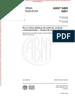 NBR6881 - Arquivo para impressão
