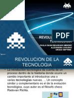 REVOLUCION DE LA TECNOLOGIA