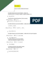 FUNCIÓN DE VARIAS VARIABLES - DOM