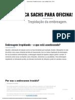 Dica para oficinas_ Trepidação da embreagem - Causas e avaliação de danos - SACHS