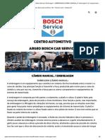 Centro Automotivo Argeo - Câmbio Manual _ Embreagem - EMBREAGEM (CÂMBIO MANUAL) A embreagem é um equipamento .._.pdf