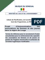 TdRs formation en GHM_Associations de femmes à louga.doc