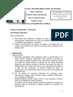 6º Ética y Valores - ÉTICA DE LA PALABRA EN FAMILIA (1).pdf